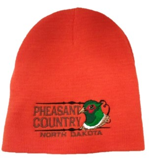 Pheasant Country Orange Beanie